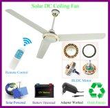 Ventilatore di soffitto solare di CC del forte flusso d'aria eccellente 42W 350rpm