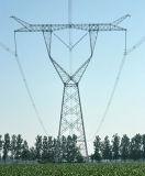 Прочная передающая линия башня силы 110kv-1000kv решетки