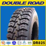 La doubles route/radial en gros de Longmarch 315/80r22.5 385/65r22.5 bande le pneu du bus 13r22.5 et du camion