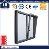 경사 & 회전 오프닝 작풍 두 배 창유리 알루미늄 여닫이 창 Windows