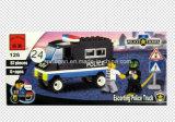 Block-Spielwaren des Polizei-Serien-Entwerfer-Konvoi-LKW-87PCS