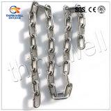 Corrente de ligação de âncora de aço inoxidável de alta qualidade para elevação