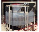 3 camadas da máquina fundida película da co-extrusão com oscilação pegam a unidade