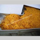 patatas fritas de la salida 100kg/H que fríen la máquina