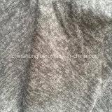 Melange Hacci escovado P/R/Sp tecido tricô para senhora desgaste casual com a transmissão
