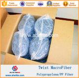 Fibra Smilar Forta ferro Macrofiber Macrofibre della fibra di torsione del polipropilene pp