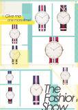 Relógio de pulso ocasional da alta qualidade quente da venda 2015 (DC-858)