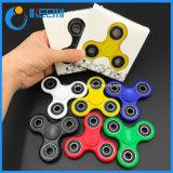 De tri-spinner friemelt Stuk speelgoed de Plastic EDC Spinner van de Hand Spinner friemelt