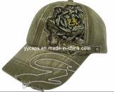 소모된 세탁된 야구 모자 (YYCM-120152)