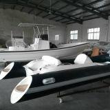 Barco inflable de Liya los 4.3m con la fábrica de China del barco de la costilla del motor