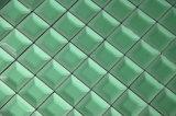 Tuiles biseautées de miroir en vert