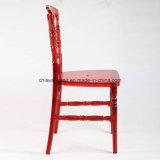Résine de polycarbonate rouge claire Napoleon Ghost Chair