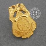 Plaqué or insigne militaire Insigne de sécurité personnalisé (GZHY-d'un insigne-086)