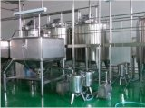 Cadena de producción fresca automática completa de leche 2000L/H