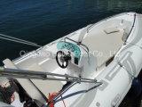 늑골 Sprots 어업 섬유유리 중앙 콘솔을%s 가진 엄밀한 팽창식 모터 배 요트 580