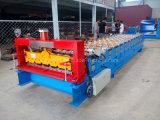 La couleur de la Chine a enduit le roulis de profil d'acier de tôle de toiture formant la machine