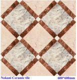 Azulejo de suelo brillante Polished de la porcelana de las baldosas cerámicas para la decoración del azulejo de suelo