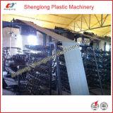 Máquina de tecelagem plástica para a fatura tecida PP do saco