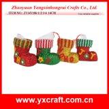 Décoration de Noël (ZY14Y572-1-2) Vase de décoration d'amorçage de cadeau de Noël