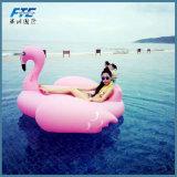 Оптовые продажи с возможностью горячей замены надувных розовых фламинго бассейн качания