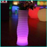 Plantadores de LED e Mobiliário de LED Pots de plástico de flor quadrada