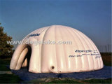 거대한 팽창식 명확한 돔 천막 또는 투명한 당 또는 결혼식 천막