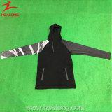 Ultima tuta sportiva di ginnastica di sublimazione degli abiti sportivi di disegno