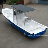 Liya 25ft Panga Work Boat Barco de pesca barato em FRP com motores à venda