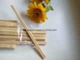 Respetuoso del medio ambiente individuales desechables de bambú palillos para sushi