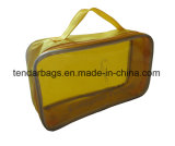 Il sacchetto delle signore della cassa della chiusura lampo compone il sacchetto dell'estetica di memoria dell'organizzatore del sacchetto