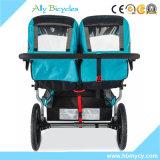 Säuglingsauto-Sitzzwilling-Baby-Spaziergänger-doppelte Spaziergänger