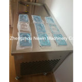 9つのトッピングが付いている単一鍋のアイスクリームロールメーカー機械