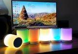 Luz sem fio portátil do toque do diodo emissor de luz da música do altofalante de Bluetooth