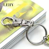 Form-kundenspezifische Troddel-Schlüsselketten-Schlüsselringe für Frauen-Männer