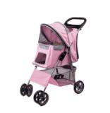 L'alta qualità colora i 4 passeggiatori sicuri dell'animale domestico delle rotelle
