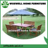 Tipo de madeira Mobiliário de exterior com guarda-chuva dobrável