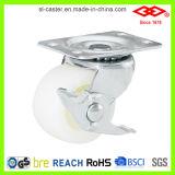 wiel van de Gietmachine van de Plaat van de Wartel van 65mm het Witte Plastic (P108-30B065X25)
