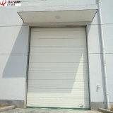 Электрические вертикальные верхние автоматические промышленные секционные надземные двери