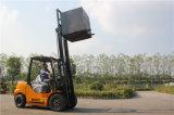 3.0 톤 디젤 포크리프트를 드는 물자 손