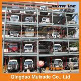 Sistema automatico ad alta velocità di parcheggio della trasparenza e dell'elevatore idraulico