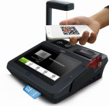 One Mobile Payment POS Terminal Support Nfc와 Qr-Code Payment에 있는 Jepower All
