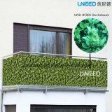 100% UV-Beständigkeit, winddichte Buchubaum 0,9m * 6m PVC-Balkonabdeckung Zaun