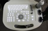 安いトロリー黒のプリンターMsltu01が付いている白い超音波機械