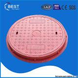 Anti coperchio di botola di telecomunicazione di plastica di rinforzo di furto fibra di vetro