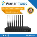 Yeastar 8 UMTS 포트 SIM 카드 VoIP CDMA 게이트웨이 (NeoGate TG800)