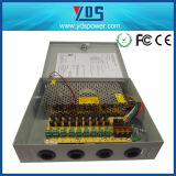 CCTV Power Supply Box 12V 10A 9CH