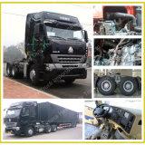 普及した、耐久380HP HOWO A7のトラクターのトラックヘッドトレーラーヘッド