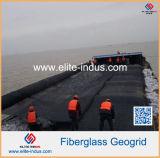 De asfalt Bedekte Prijs van Geogrid van de Glasvezel