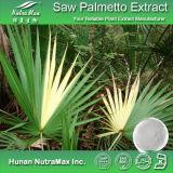 100% естественное увидело, что Palmetto извлек 25%-45% жирных кислот