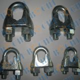 Clips de câble métallique d'acier inoxydable de matériel de calage